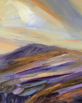 Suzanne Winn Mountain III Wychwood Art Original Landscape Painting