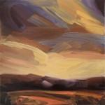 Suzanne Winn The Wood in Autumn Wychwood Art Original Landscape Painting