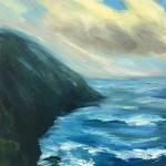 Suzanne Winn Whitesands III Wychwood Art Original Landscape Painting