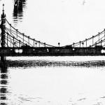 Thames Bridges East Etching 2015 61 x 46 cm (24 x 18 inch) detail 3 Wychwood Art