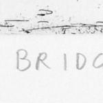 Thames Bridges East Etching 2015 61 x 46 cm (24 x 18 inch) detail 4 Wychwood Art
