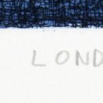 Thames London Etching 38 x 25 cm (15 x 10 inch) deatil 4 Wychwood Art