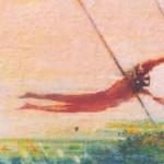 Trapeze. oil on canvas.12ins.x16ins.£450. – Copy – Copy (2)