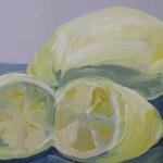 099 One Lemon and a cut lemon