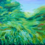 Alanna Eakin The Chase Nature Inspired Abstract Wychwood Art 2mb
