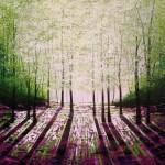 Amanda Horvath Rosebay Glade Landscape Painting, Impressionist Art, Affordable Contemporary Painting