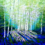 Amanda Horvath Secret Spring    Landscape Painting, Impressionist Art, Affordable Contemporary Painting