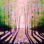 Amanda Horvath The Light of Spring   Landscape Painting, Impressionist Art, Affordable Contemporary Painting