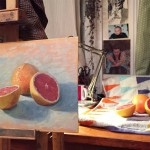 Benedict Flanagan, Grapefruit, Still life 2
