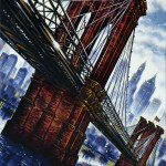 Brooklyn Bridge Oil 2015 76 x 51 cm (30 x 20 inch) Wychwood Art