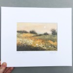 Cathryn Jeff Autumn Meadow with hand