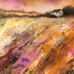 Cathryn Jeff Hills of Ochre & Pink Wychwood Art