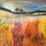 Cathryn Jeff Vivid Hayfield Wychwood Art
