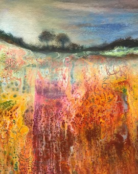 Cathryn Jeff Vivid Hayfield Wychwood Art