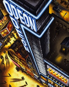 Closing Credits (Odeon Leicester Square) Acrylic 2012 76 x 51 cm (30 x 20 inch) Wychwood Art