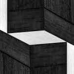 Cristian Stefanescu - Monochromatic #10 - Abstract Geometry, Black and White Photography