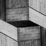 Cristian Stefanescu - Monochromatic #11 - Abstract Geometry, Black and White Photography