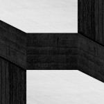 Cristian Stefanescu - Monochromatic #12 - Abstract Geometry, Black and White Photography