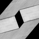 Cristian Stefanescu - Monochromatic #17 - Abstract Geometry, Black and White Photography