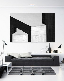 Cristian Stefanescu - Monochromatic - Abstract Geometry, Black and White Photography - InSitu A #02