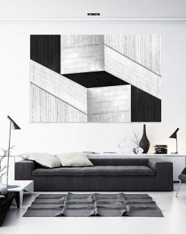 Cristian Stefanescu - Monochromatic - Abstract Geometry, Black and White Photography - InSitu A #03