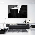 Cristian Stefanescu - Monochromatic - Abstract Geometry, Black and White Photography - InSitu A #05