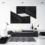 Cristian Stefanescu - Monochromatic - Abstract Geometry, Black and White Photography - InSitu A #10