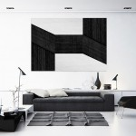 Cristian Stefanescu - Monochromatic - Abstract Geometry, Black and White Photography - InSitu A #12