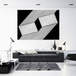 Cristian Stefanescu - Monochromatic - Abstract Geometry, Black and White Photography - InSitu A #17