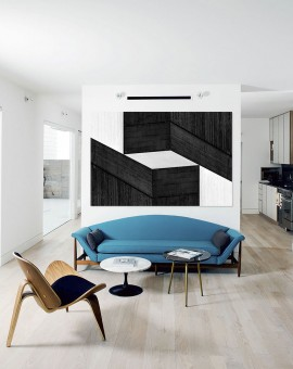 Cristian Stefanescu - Monochromatic - Abstract Geometry, Black and White Photography - InSitu B #10