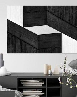 Cristian Stefanescu - Monochromatic - Abstract Geometry, Black and White Photography - InSitu C #10