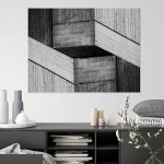 Cristian Stefanescu - Monochromatic - Abstract Geometry, Black and White Photography - InSitu C #11