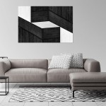 Cristian Stefanescu - Monochromatic - Abstract Geometry, Black and White Photography - InSitu D #10