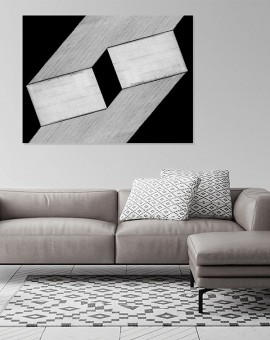 Cristian Stefanescu - Monochromatic - Abstract Geometry, Black and White Photography - InSitu D #17