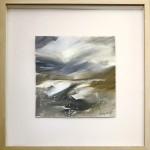 Eleanor Campbell Snow Glen Torridon in frame
