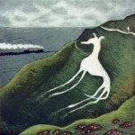 Eric Ravilious's dog_etching