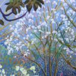 Flowering Trees by Rosemary Farrer detail 2