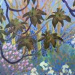 Flowering Trees by Rosemary Farrer detail 3
