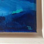 Gold Cloud Blue Sea signiture