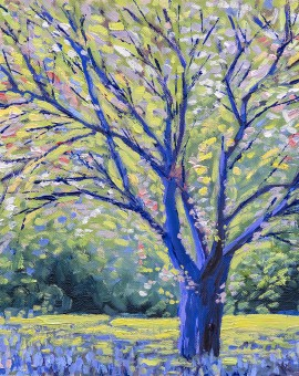 Lee Tiller - Birdsong in Springtime - Wychood Art