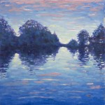 Lee Tiller – Evensong on the Thames (etude) – Wychwood Art
