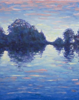 Lee Tiller - Evensong on the Thames (etude) - Wychwood Art
