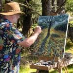 Lee Tiller – Meet me on the other side – WIP – Wychwood Art