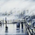 London Panorama – Elephant & Castle 2 30 x 120 cm (12 x 39 inch) Wychwood Art