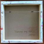Magdalena Morey – Exploring Every Path 2 – back of canvas-2000