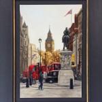 Marie Robinson Down Whitehall Way Framed_ Wychwood art