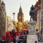 Marie Robinson Down Whitehall way_ Wychwood art