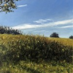Marie Robinson Sunlit Tree Detail 2_Wychwood Art