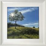 Marie Robinson Sunlit Tree Framed_Wychwood Art