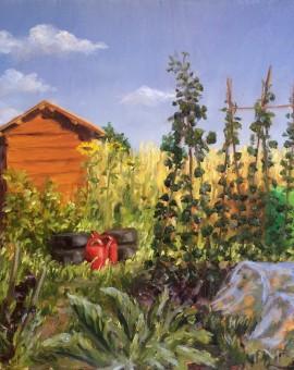 Marie Robinson The Allotment_ Wychwood art